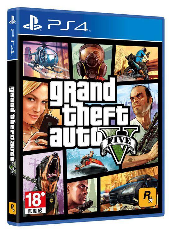 PS4《GTA5》繁体版主机同捆组将于12月3日发售
